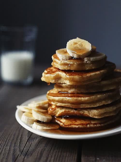 Watch Pancakes dripping maple syrup [breakfast food banana delicious sweet hungry] (reddit) GIF on Gfycat. Discover more gfycatdepot GIFs on Gfycat
