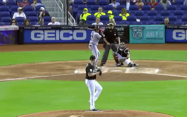 Watch and share Dan Straily GIFs and Baseball GIFs by Ely Sussman on Gfycat
