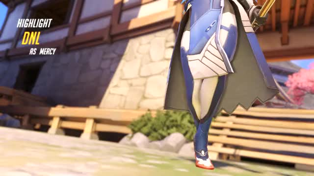 Watch and share Overwatch GIFs and Mercy GIFs by dnl on Gfycat