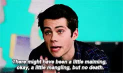 Watch and share Stiles Stilinski GIFs and But I Gave Up GIFs on Gfycat