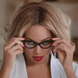 Watch this sexy GIF by The GIF Smith (@sannahparker) on Gfycat. Discover more beyonce, glasses, hello, partition, sexy, sophisticated GIFs on Gfycat