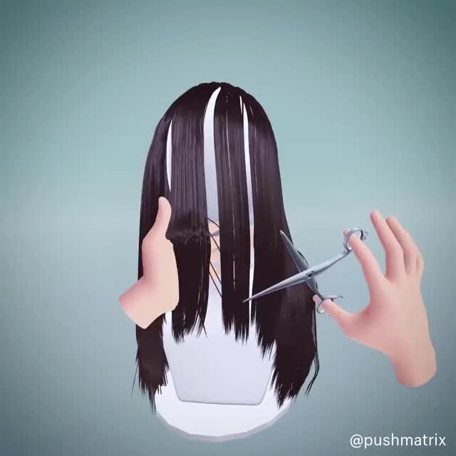 Watch and share VR Haircut GIFs by pushmatrix on Gfycat