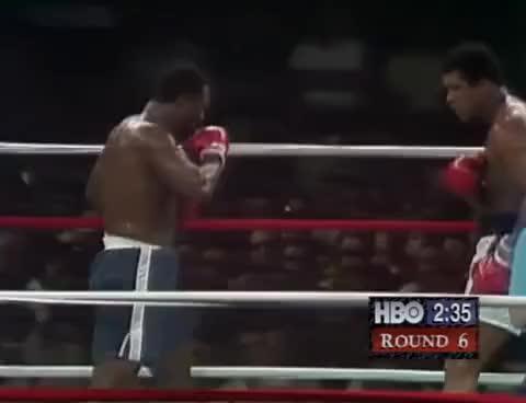 "Watch Muhammad Ali vs Joe Frazier (III) 1975-10-01 ""Thrilla in Manila"" GIF on Gfycat. Discover more related GIFs on Gfycat"