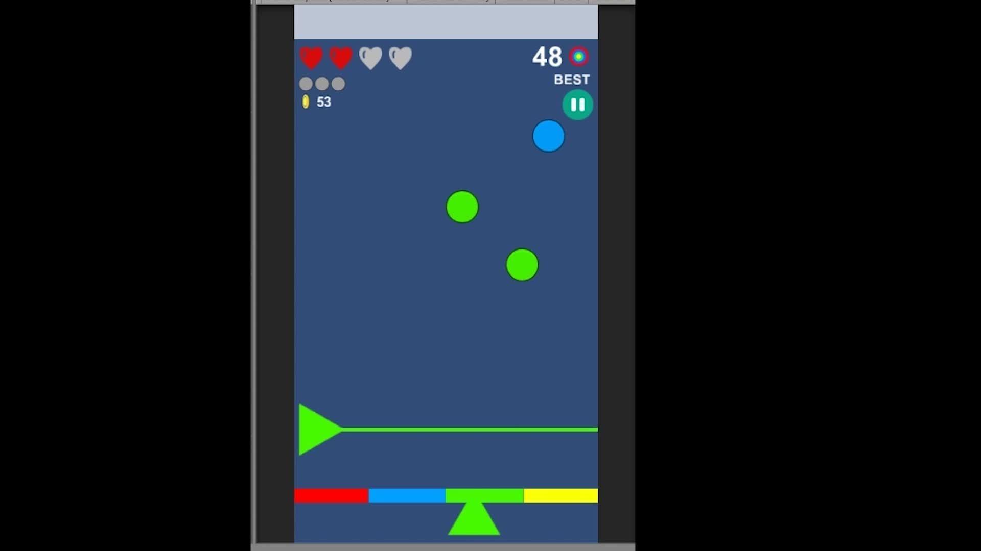 unity2d, Blue Powerup GIFs