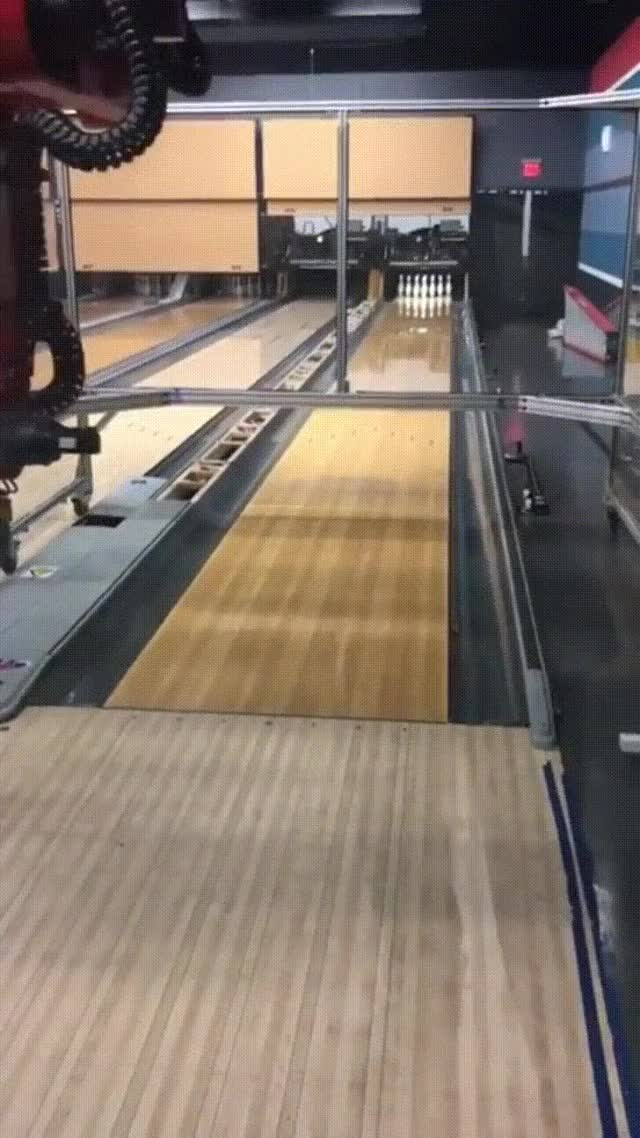 Watch and share Here Is A Real Robot Bowling. - Imgur GIFs on Gfycat