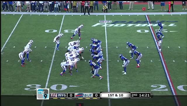 Watch and share Taylor To Goodwin Vs Giants GIFs by Cover 1 on Gfycat