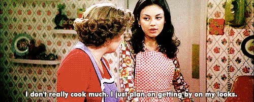 Watch and share That 70s Show GIFs and Mila Kunis GIFs on Gfycat