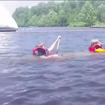 Watch and share Kids Sinking In Canoe | ORIGINAL GIFs on Gfycat