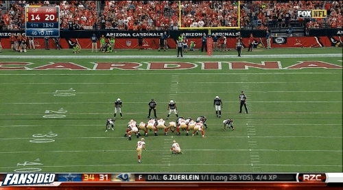 Cardinals block field goal GIFs
