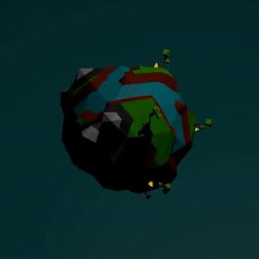 low poly planet GIFs