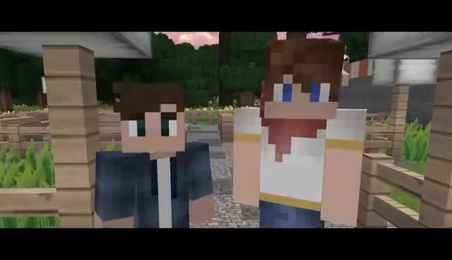 Watch and share Best Of Garroth [Part 1] | Aphmau's Minecraft MyStreet GIFs on Gfycat