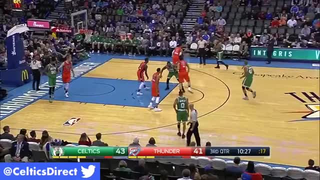Watch Boston Celtics at Oklahoma City Thunder | Extended Game Highlights | Dec 11th, 2016 GIF on Gfycat. Discover more boston, boston celtics, celtics GIFs on Gfycat