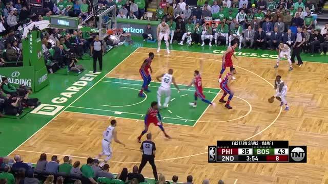Watch Baynes-three GIF by @kennypit on Gfycat. Discover more Boston Celtics, Philadelphia 76ers, basketball GIFs on Gfycat