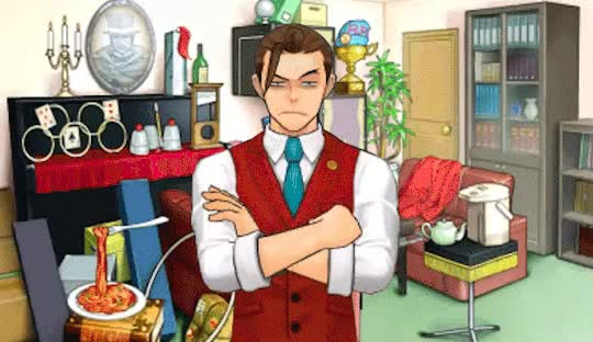 Watch and share Apollo Justice GIFs and Ace Attorney GIFs on Gfycat