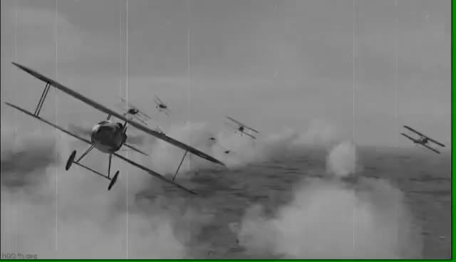 1917 World War One Dogfight. GIFs