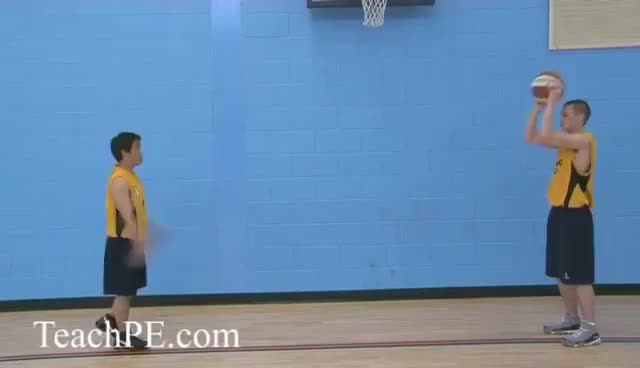 Watch and share Basketball Drills - Improve Your Passing - The Overhead Pass GIFs on Gfycat