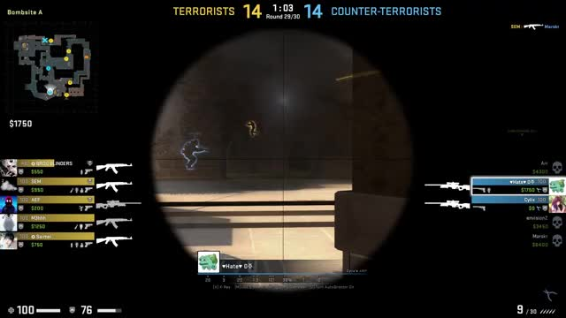 Watch and share 1v4 Clutch 1 GIFs on Gfycat