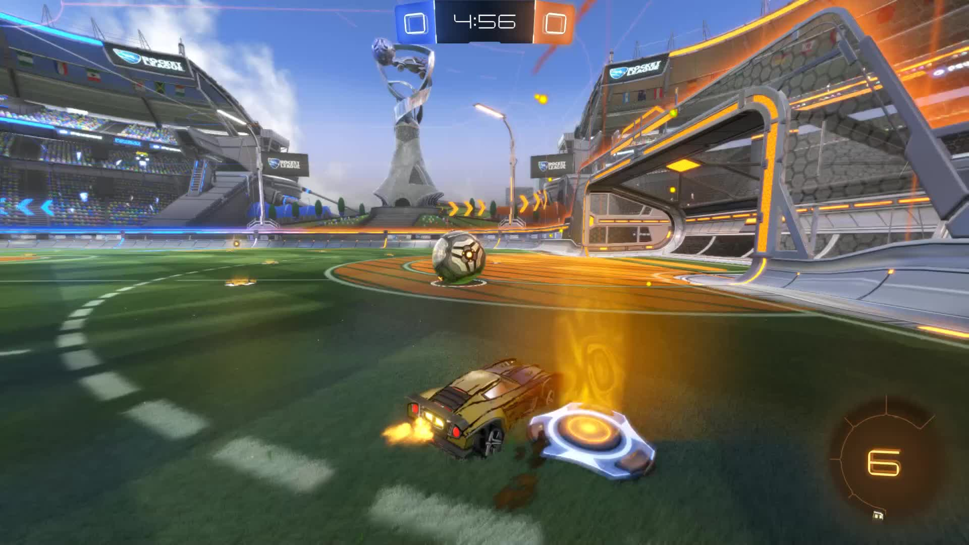 Gif Your Game, GifYourGame, Goal, Rocket League, RocketLeague, earray, Goal 1: earray GIFs