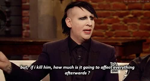 Watch this GIF on Gfycat. Discover more marilyn manson GIFs on Gfycat