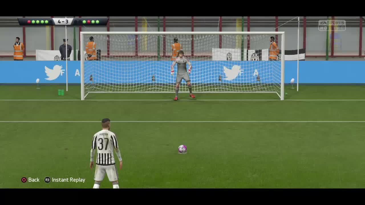 fifacareers, Perin Save FIFA 16 GIFs