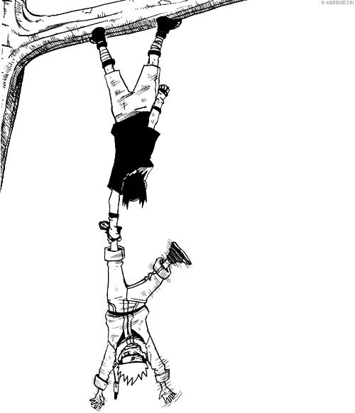 Watch and share Naruto Shippuden Black And White Gif GIFs on Gfycat