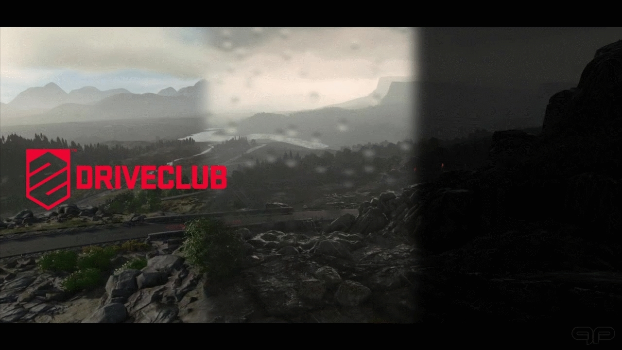DRIVECLUB Landscapes GIFs