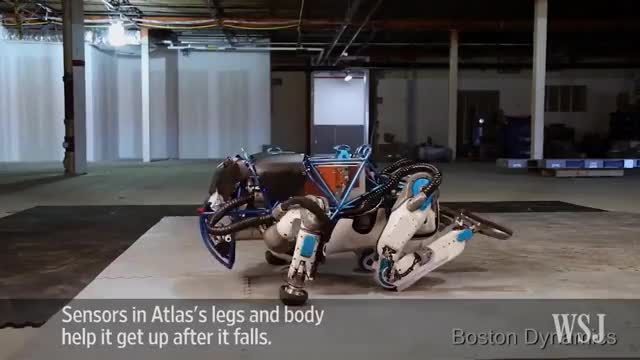 Watch and share Atlas The Humanoid Robot In Action GIFs on Gfycat