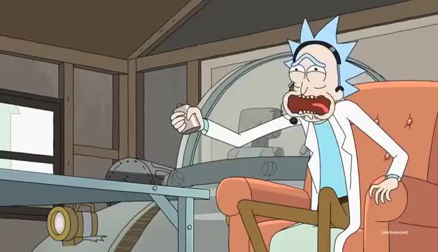 Watch Rick and Morty - Rick Burping GIF on Gfycat. Discover more related GIFs on Gfycat