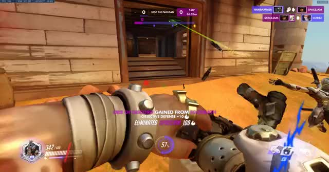 Watch and share Overwatch GIFs and Ana GIFs by hanbammer on Gfycat