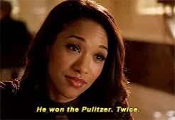 Watch and share Candice Patton GIFs and Barry X Iris GIFs on Gfycat