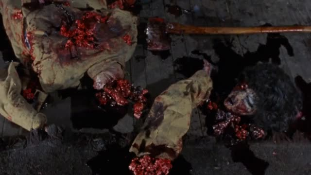 Watch this horror GIF on Gfycat. Discover more 1981, axe, blood, dismemberment, film, gore, horror, kill, movie, scary, scenes, slash, slasher, zombie GIFs on Gfycat