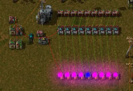 Watch and share Factorio Light Show GIFs by timeshifter on Gfycat