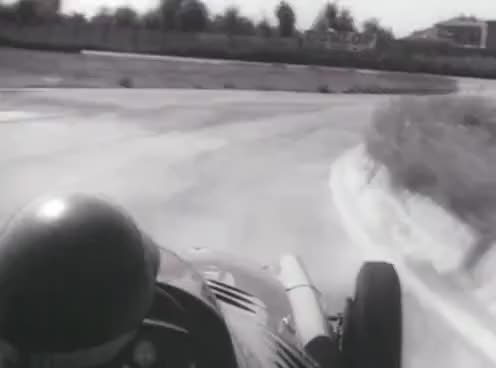 Watch and share Onboard With Juan Manuel Fangio Testing Maserati 1957 F1 - Modena Autodrome GIFs on Gfycat