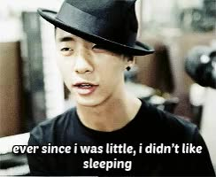 Watch and share Mygifs Bap B.a.p Yongguk Gif:bap U Need To Get Some Sleep Or I GIFs on Gfycat