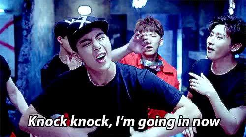 Watch twice knock knock GIF on Gfycat. Discover more bias wrecker, bts, exo, got7, knock knock, kpop, monsta x, shinee, trespass GIFs on Gfycat