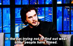 Watch and share Husband I Mean GIFs and Kit Harington GIFs on Gfycat