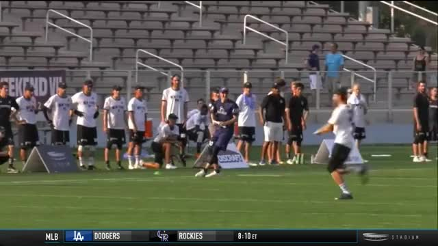 Watch and share Jay Froude Deflection Goal GIFs by American Ultimate Disc League on Gfycat