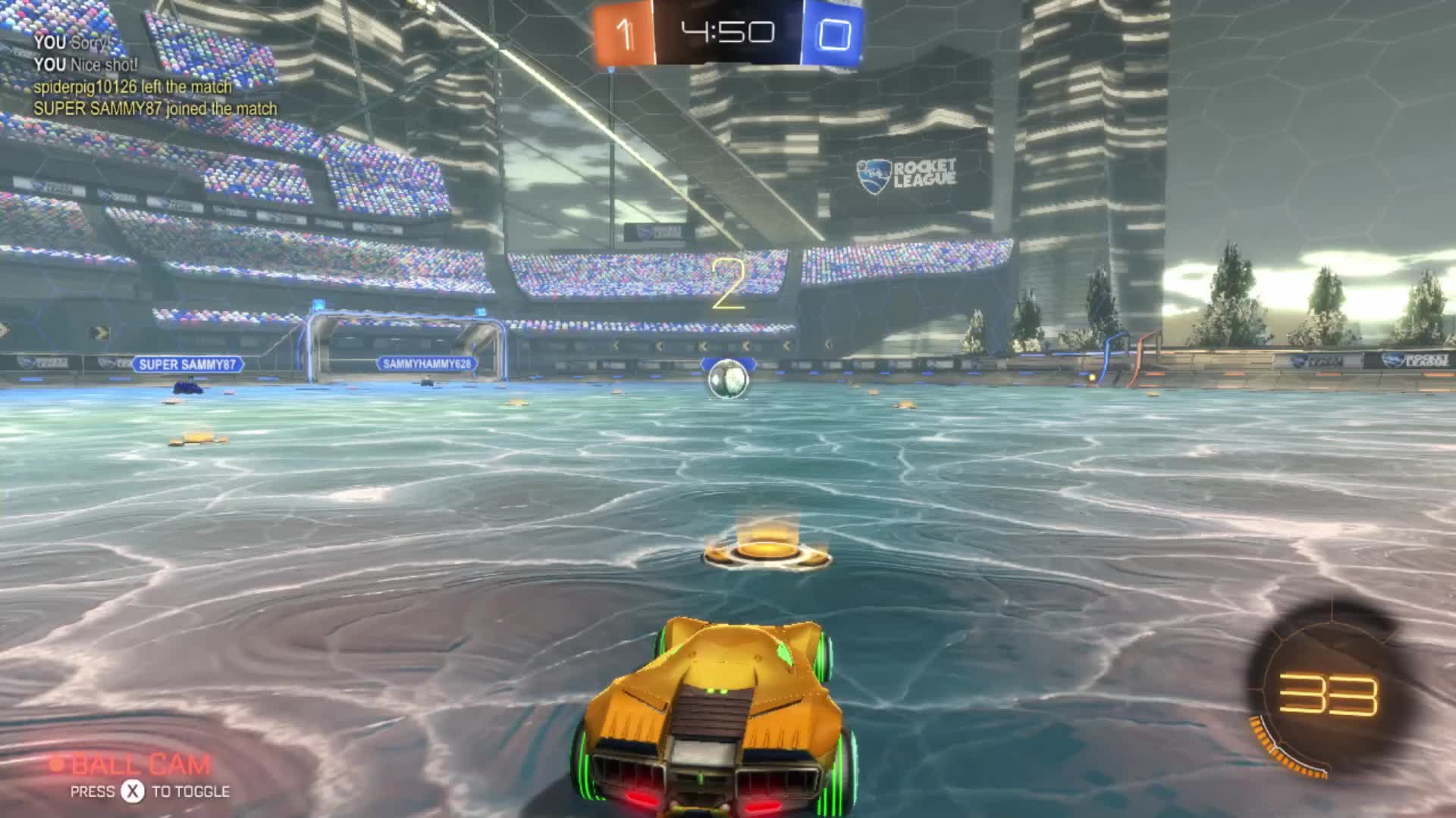 Rocket League on Switch GIFs