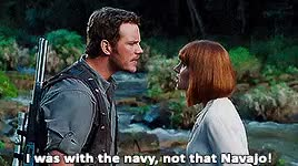 Watch Welcome to Jurassic World GIF on Gfycat. Discover more Chris Pratt, Claire Dearing, Jurassic World, Owen Grady, jwc, jwedit GIFs on Gfycat