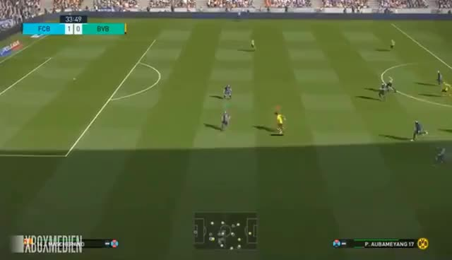 Watch PES 2018 Official Gameplay Barcelona vs Borussia Dortmund (Xbox One, PS4, PC) GIF on Gfycat. Discover more related GIFs on Gfycat