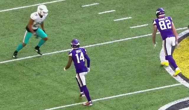 Watch and share Minnesota Vikings GIFs and Miami Dolphins GIFs by purp1eone on Gfycat