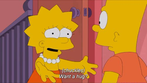 Watch and share Bart Simpson GIFs and Lisa Simpson GIFs on Gfycat