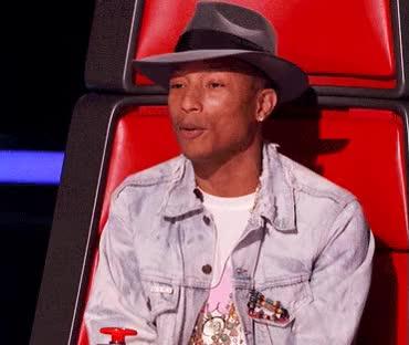 Watch and share Pharrell GIFs on Gfycat