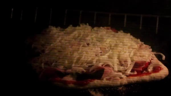 Pizza baking GIFs