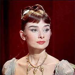 Watch this audrey hepburn GIF on Gfycat. Discover more *, 1950s, audrey hepburn, look at this doll face, my gifs, she's so fidgety lmao, war and peace GIFs on Gfycat