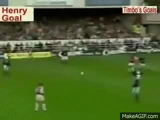 Watch and share Thierry Henry Vs Manchester United GIFs on Gfycat
