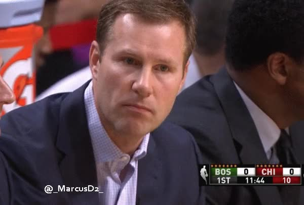 Watch and share Fred Hoiberg Looking Off Into The Distance GIFs by MarcusD on Gfycat