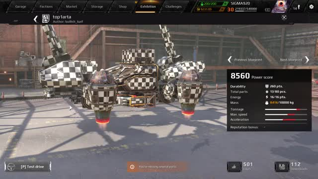 Watch and share Crossout 0.10.0.96138 12 1 2018 8 06 40 PM GIFs by sigma92 on Gfycat