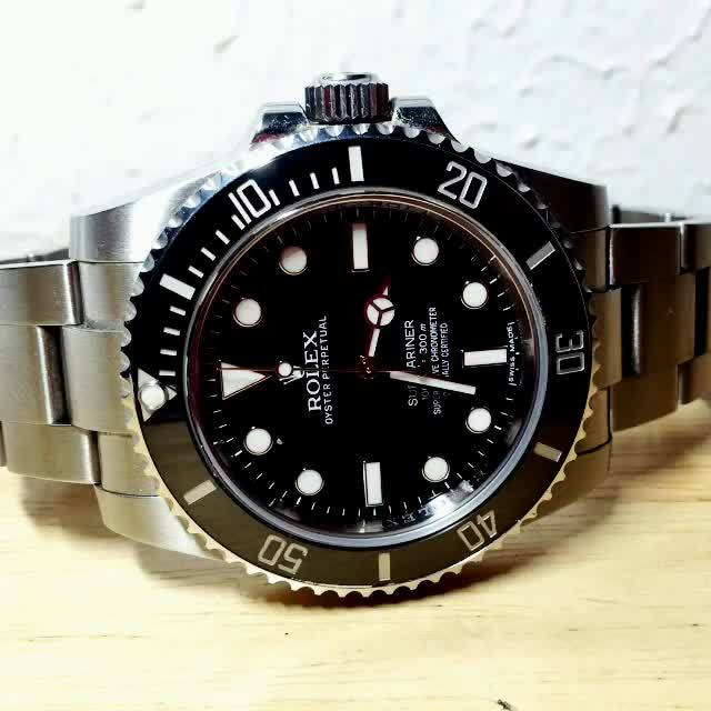watches, Rolex 114060 GIFs