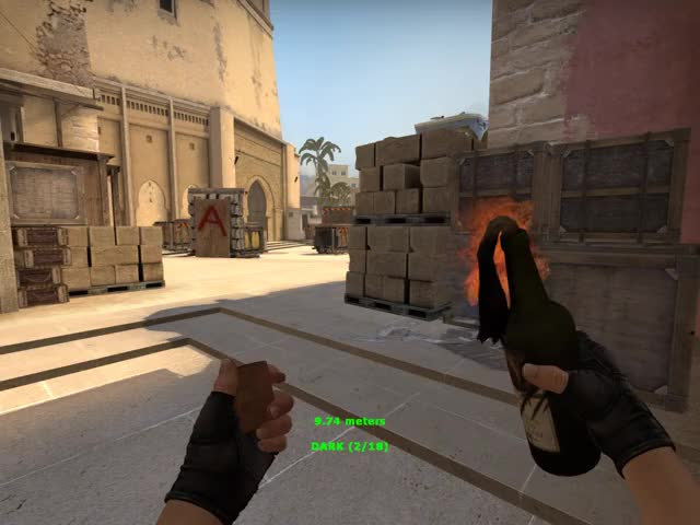 Watch and share CSGO - Mirage Molotov Dark GIFs by RKD on Gfycat